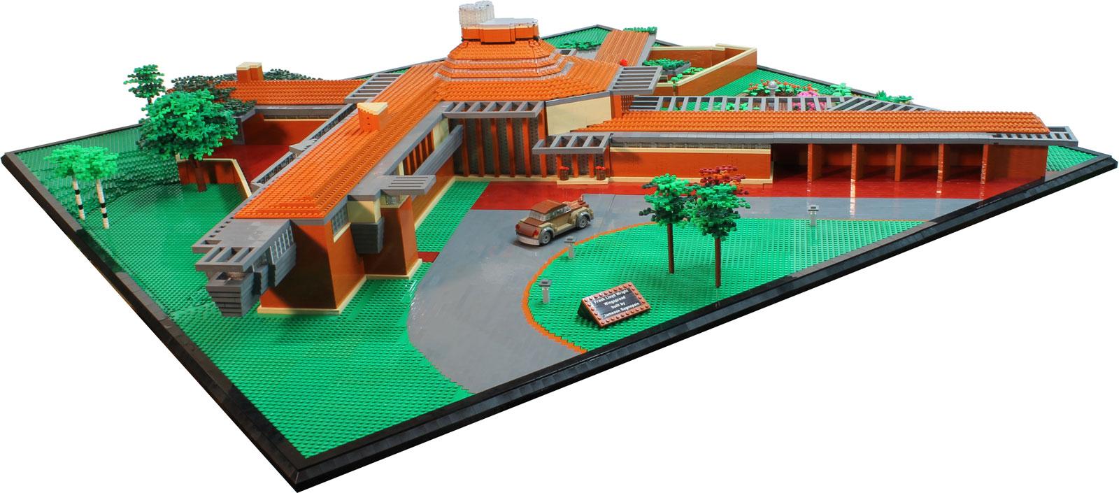 frank lloyd wright s wingspread brick architect