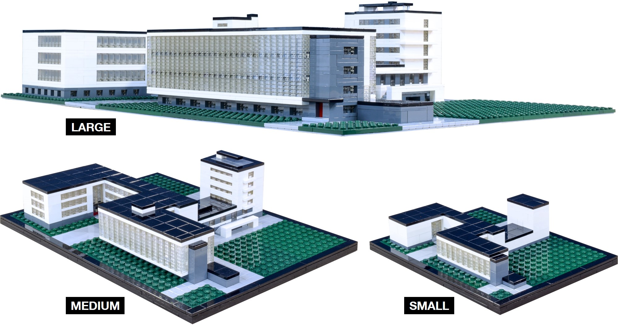 Bauhaus dessau brick architect you can clearly see how a larger scale allows for more detail malvernweather Images