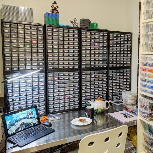 Brickset user CupIsHalfEmpty shared this photo showing how my BrickLabelshellip