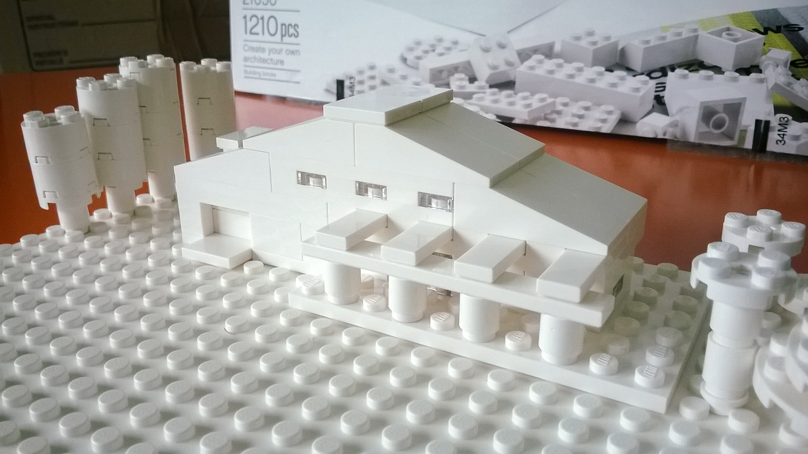 Perfect Architecture Studio Lego Project Was A Recreation Of Home Intended Inspiration Decorating