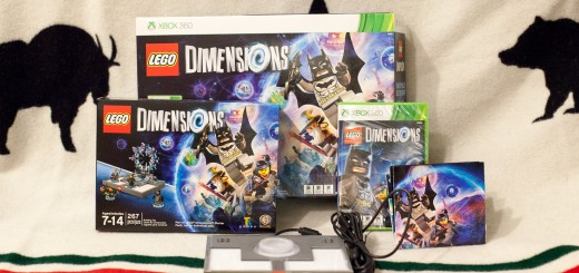 Contents of LEGO Dimensions Starter Pack