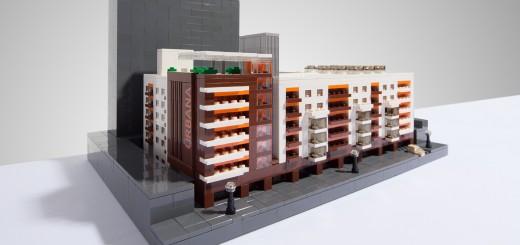 Urbana LEGO Model. (Photo by Carlo Sese.)