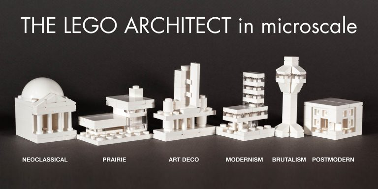 Architecture Studio Lego lego architecture advent calendar + free instructions