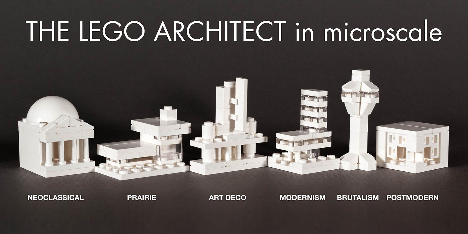 Lego Architecture Studio Designs