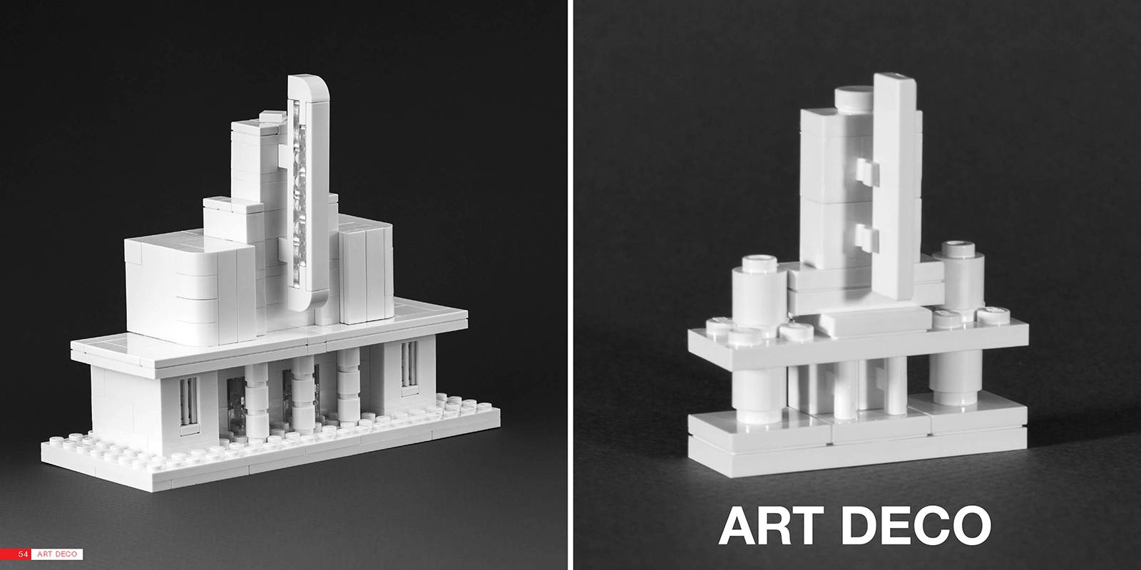 Nanoscale Models Of THE LEGO ARCHITECT BRICK