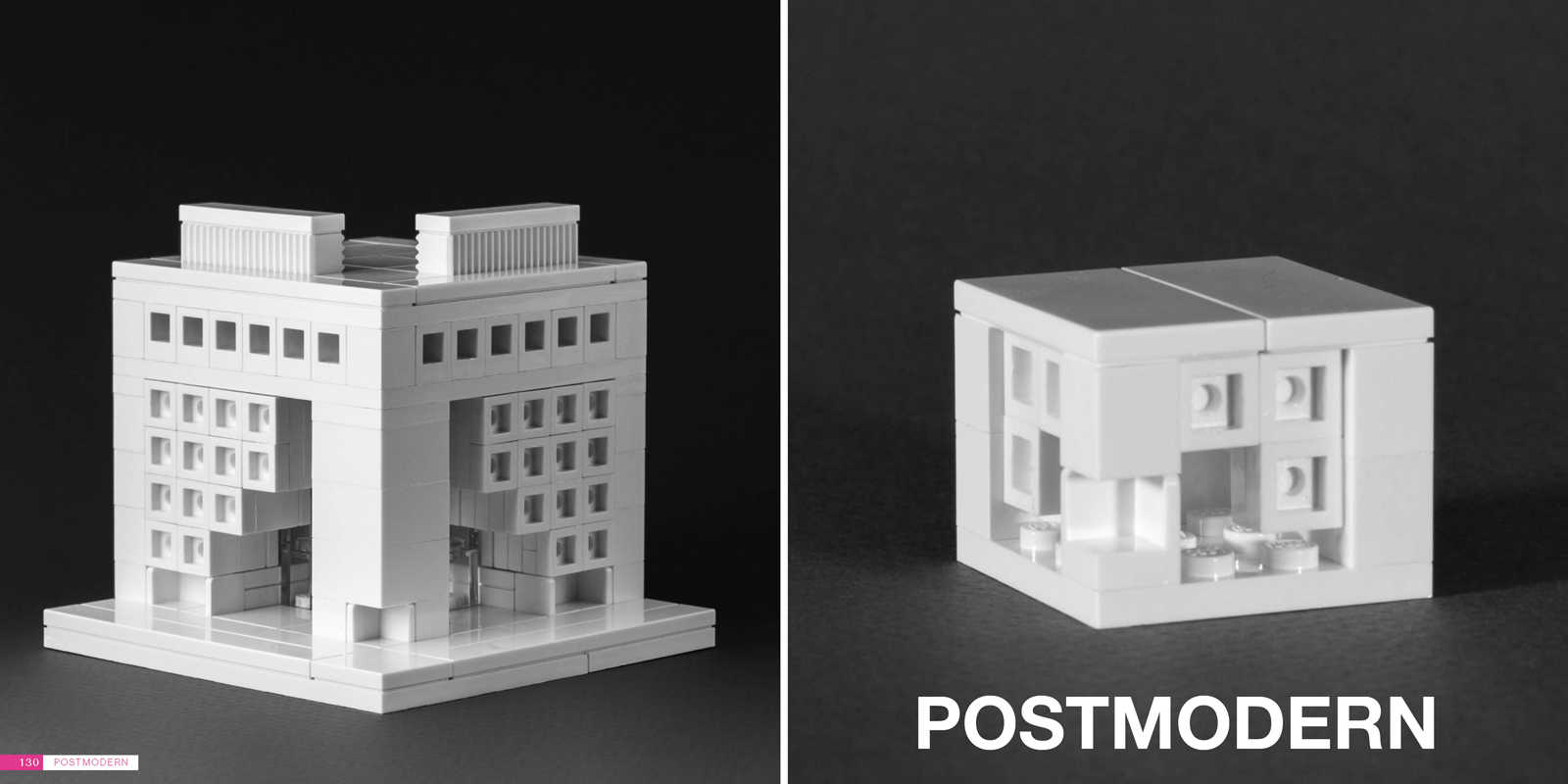 nanoscale models of the lego architect brick architect