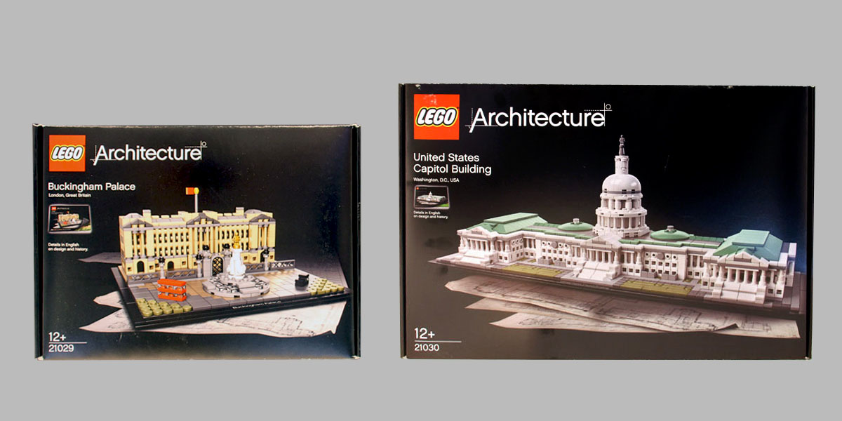 Summer 2016 Lego Architecture Preview Buckingham Palace Us Capitol Building Brick Architect