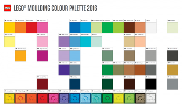 Understanding The Lego Color Palette Brick Architect