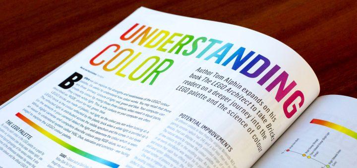 My article helps LEGO builders in 'Understanding Color'