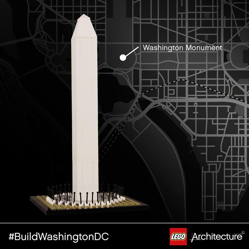 Legoarchitecture Tour Of Washington Dc Brick Architect