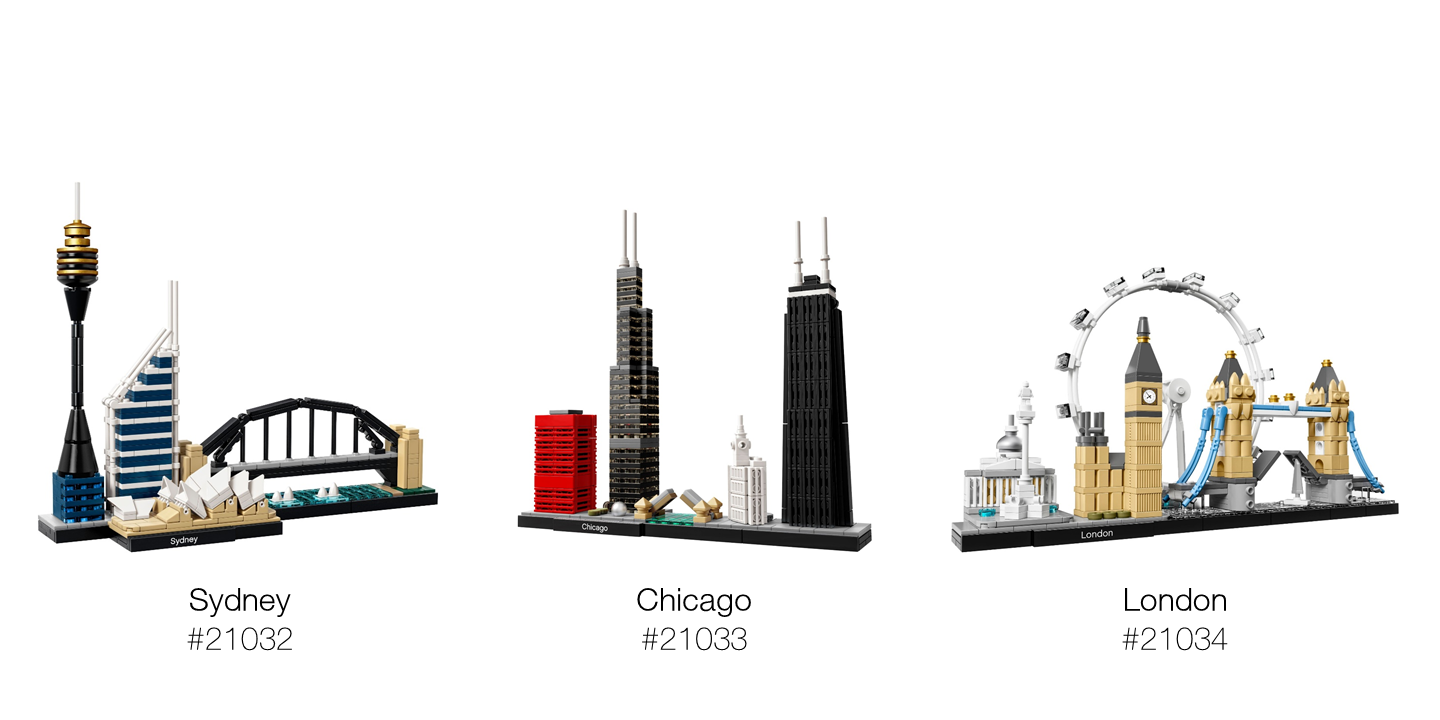 2017 LEGO Architecture Skylines