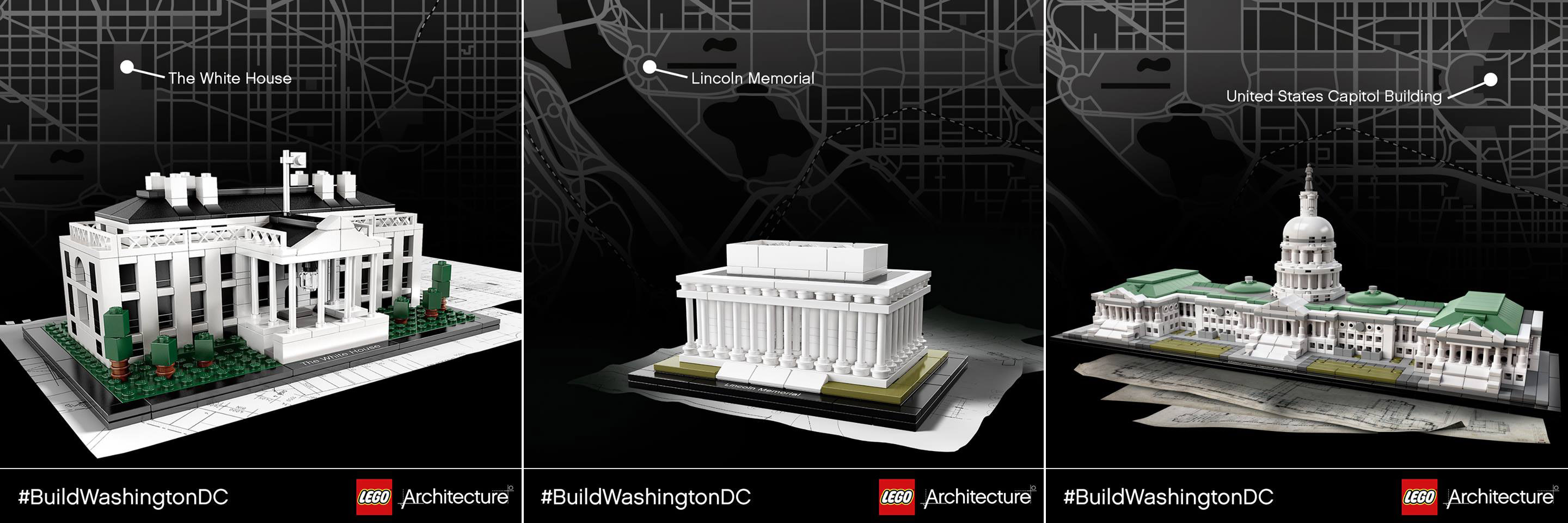 Legoarchitecture Tour Of Washington Dc Brick Architect