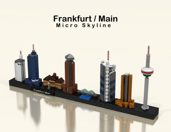 Custom Lego Architecture Skylines Brick Architect