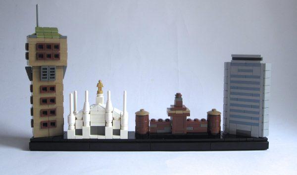 Custom LEGO Architecture Skylines – BRICK ARCHITECT