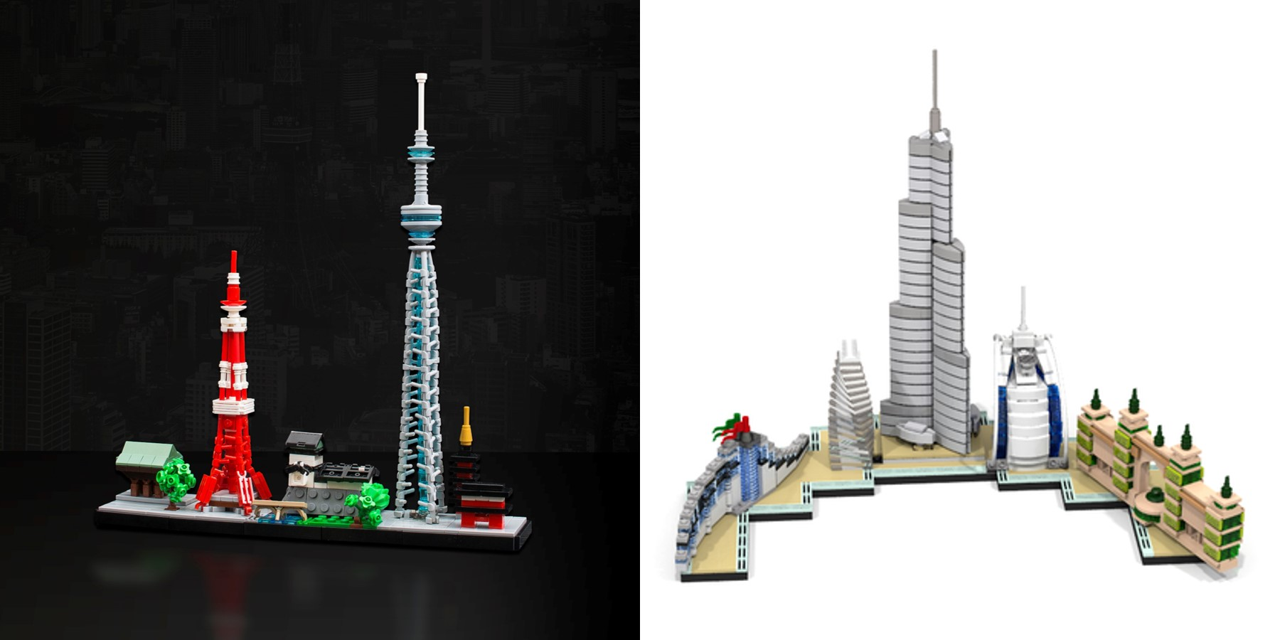 Custom lego architecture skylines brick architect for Architecture 2017