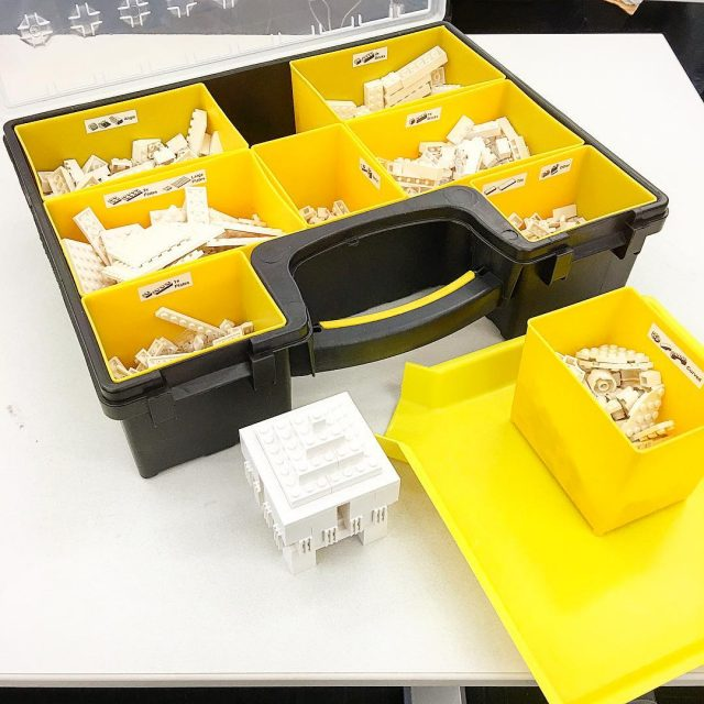 The LEGO Architecture studio that I keep at work ishellip