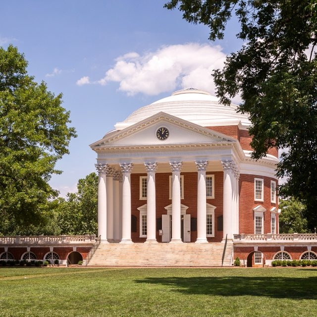 The Rotunda University of Virginia 1826 in Charlottesville Virginia byhellip