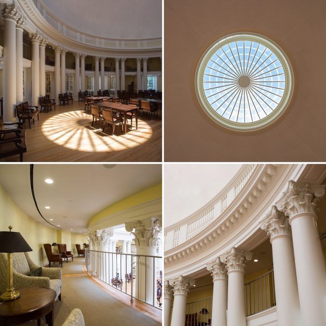 Dome Room The Rotunda University of Virginia 1826 in Charlottesvillehellip