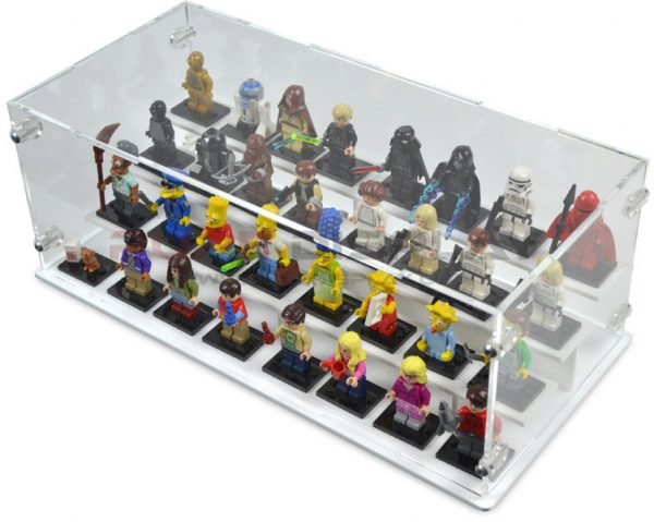 PureDisplay 32 Minifigure Display Case Is A More Expensive Option.