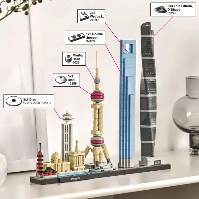 A brand new addition to the LEGO Architecture Skylines serieshellip