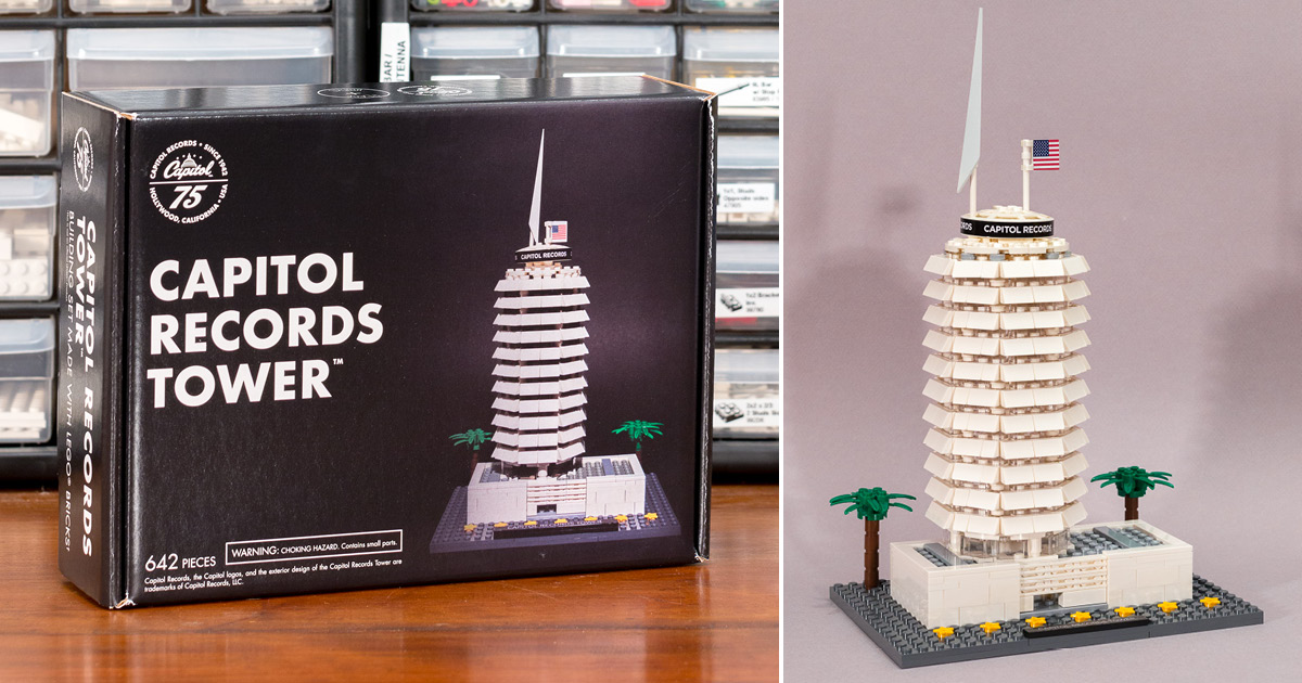 ʀᴇᴠɪᴇᴡ: 'Capitol Records Tower' by Adam Ward - BRICK