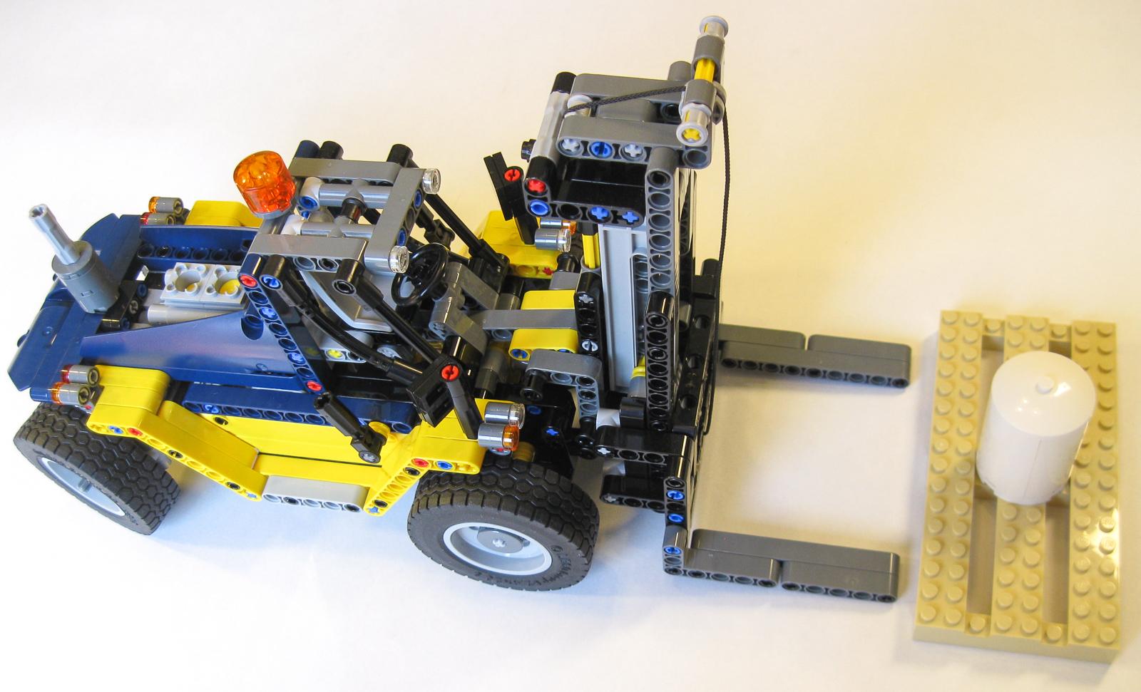 ʀᴇᴠɪᴇᴡ: #42079 Heavy Duty Forklift - BRICK ARCHITECT