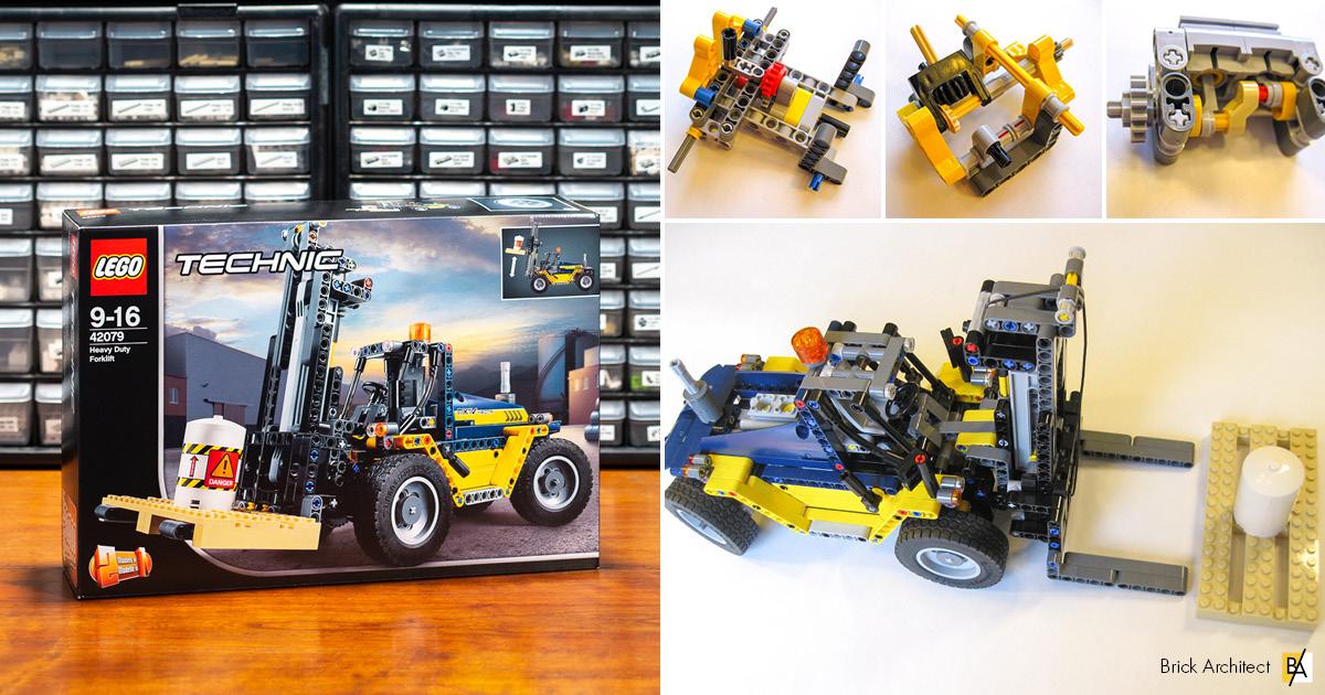 ʀᴇᴠɪᴇᴡ 42079 heavy duty forklift brick architect