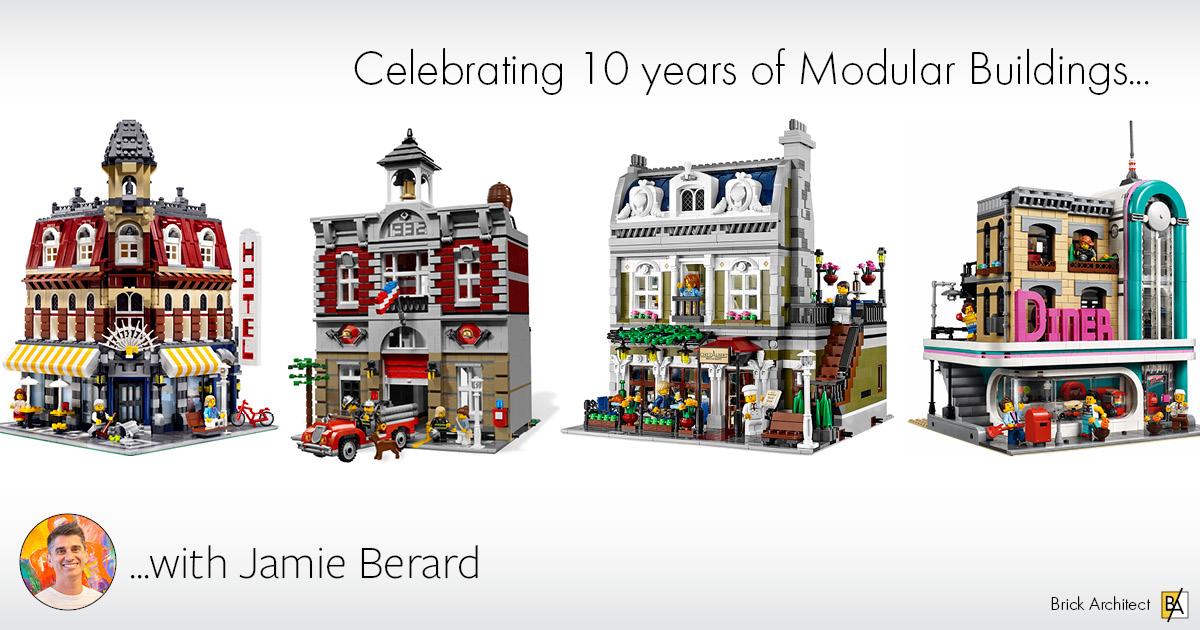 ɪɴᴛᴇʀᴠɪᴇᴡ: Modular Building Series with Jamie Berard - BRICK