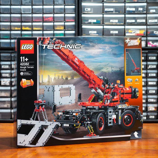 ʀᴇᴠɪᴇᴡ 42082 Rough Terrain Crane Brick Architect