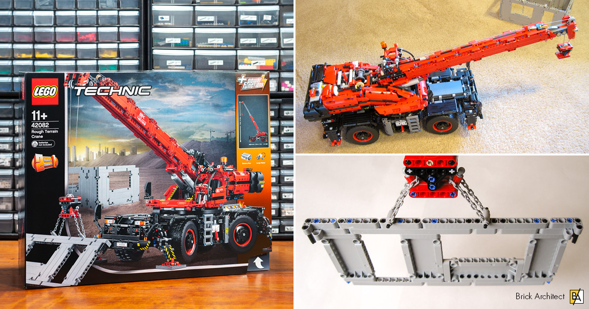 42082 Rough Terrain Crane Brick Architect