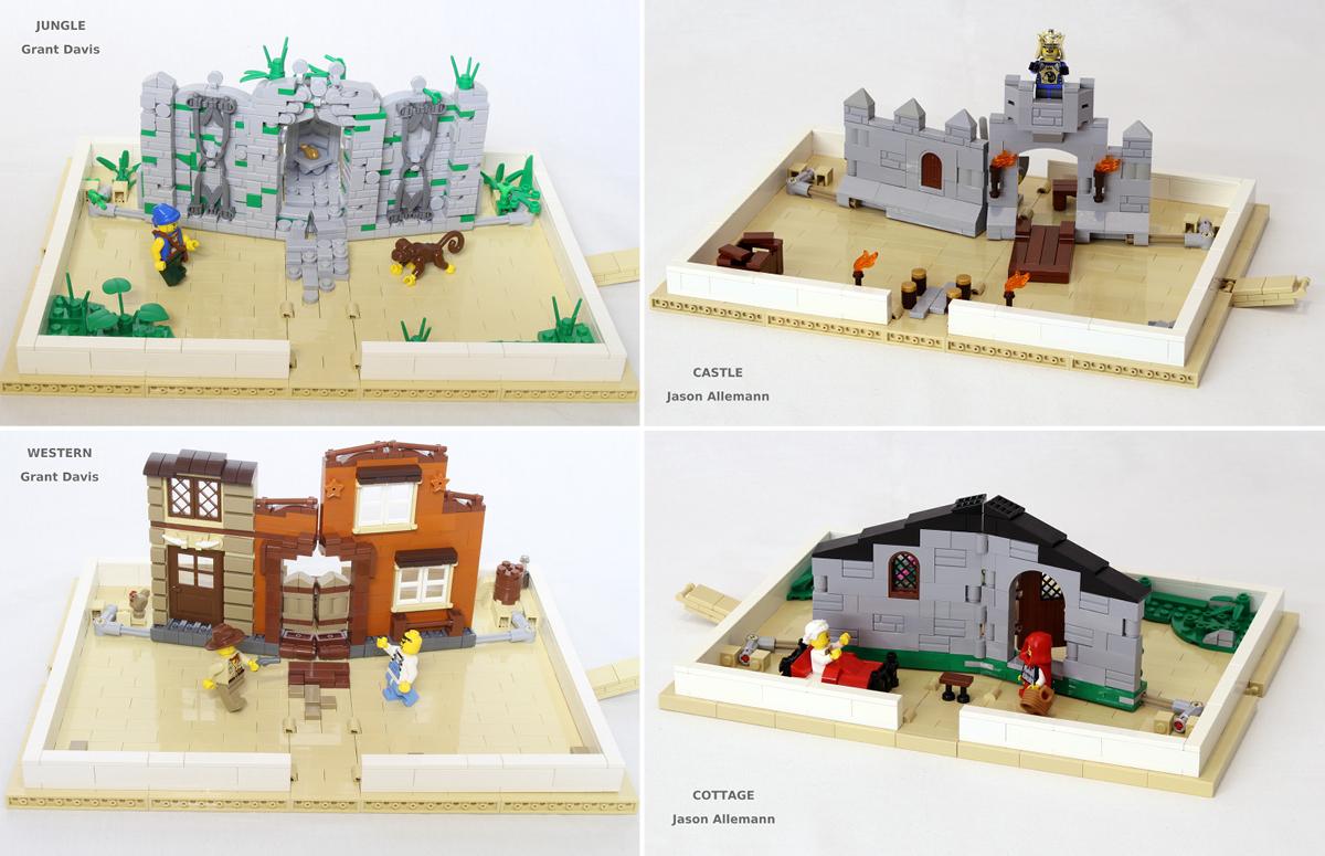 21315 pop up book brick architect. Black Bedroom Furniture Sets. Home Design Ideas
