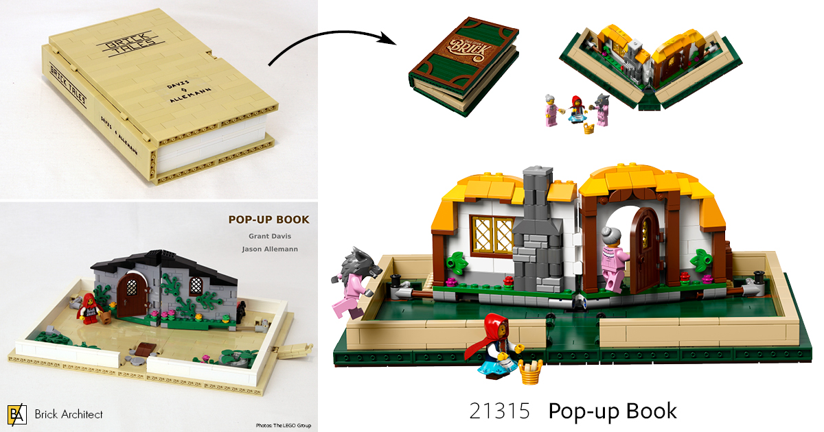#21315 Pop-up Book. (5/5 stars)