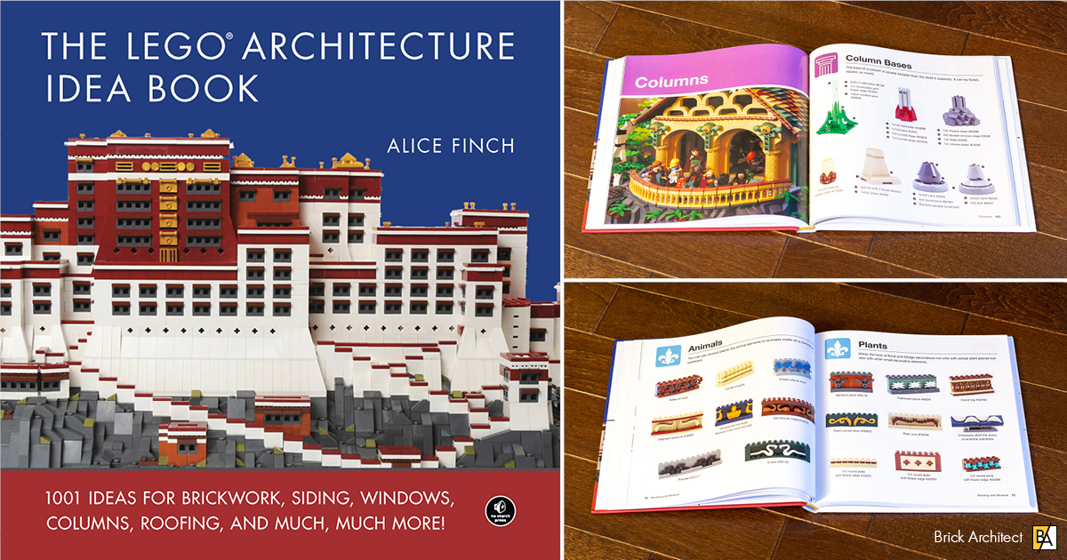 The LEGO Architecture Idea Book, by Alice Finch