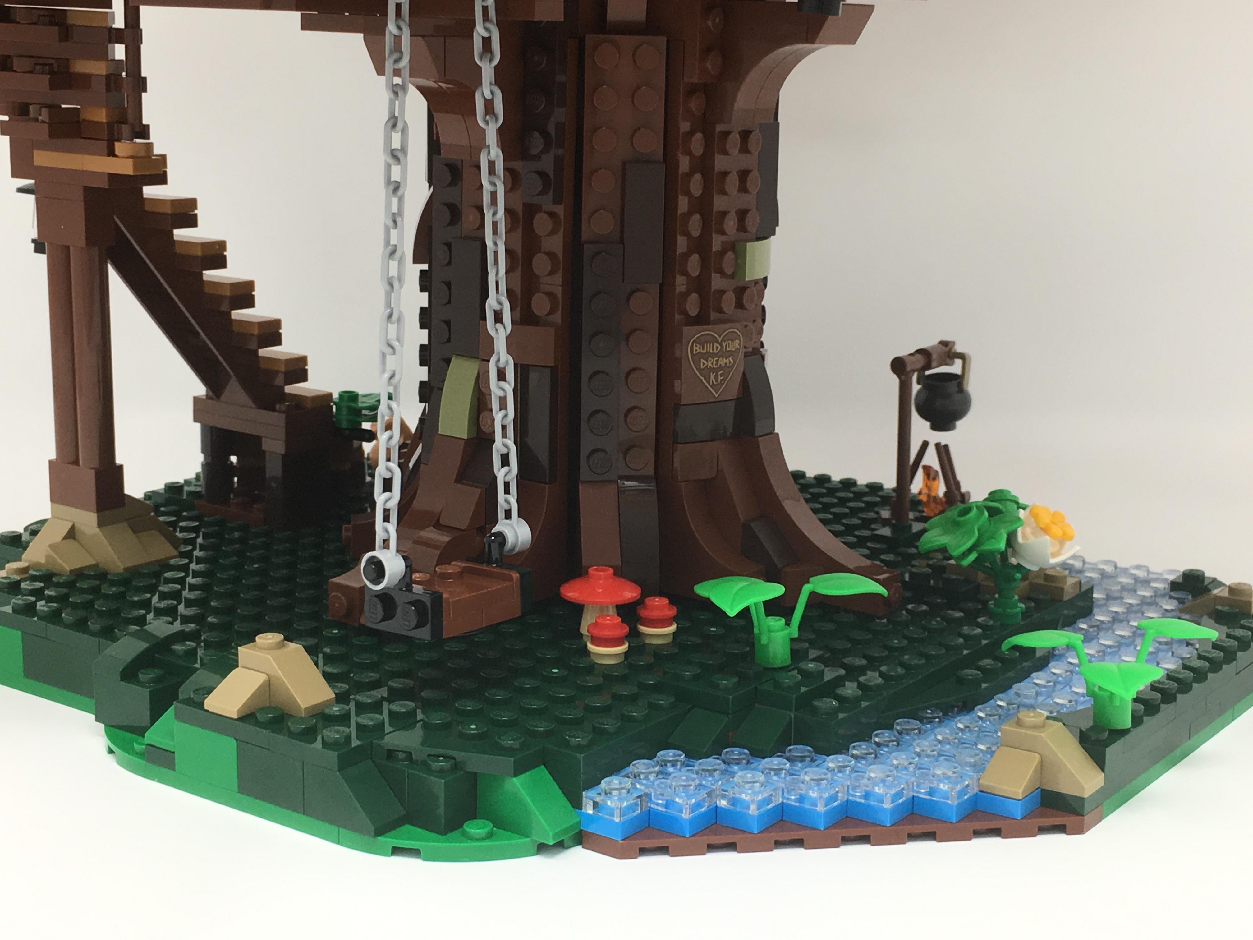 ʀᴇᴠɪᴇᴡ 21318 Ideas Tree House Brick Architect
