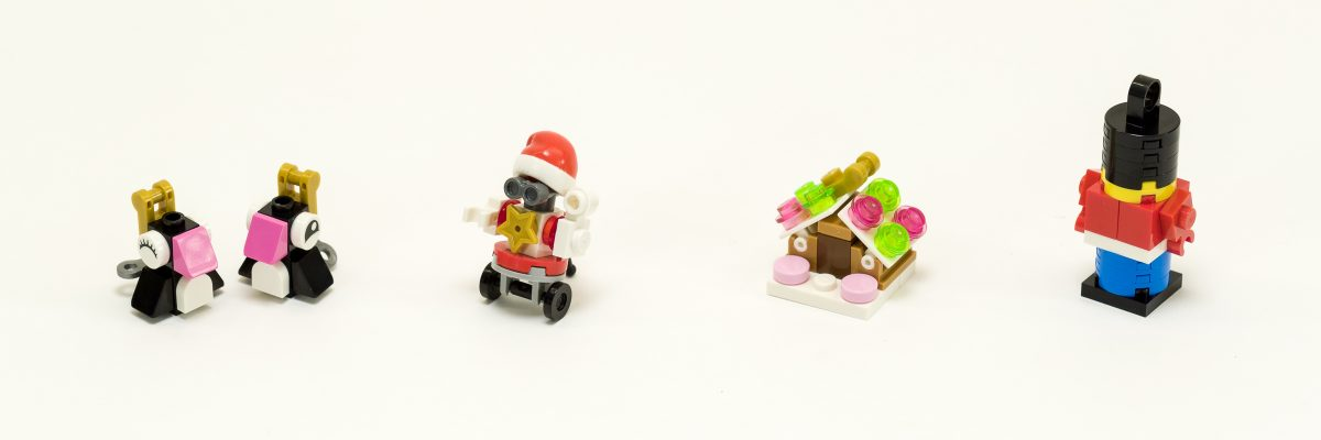 NEW LEGO WIZARD SANTA CLAUS minifigure figure minifig christmas harry potter hp