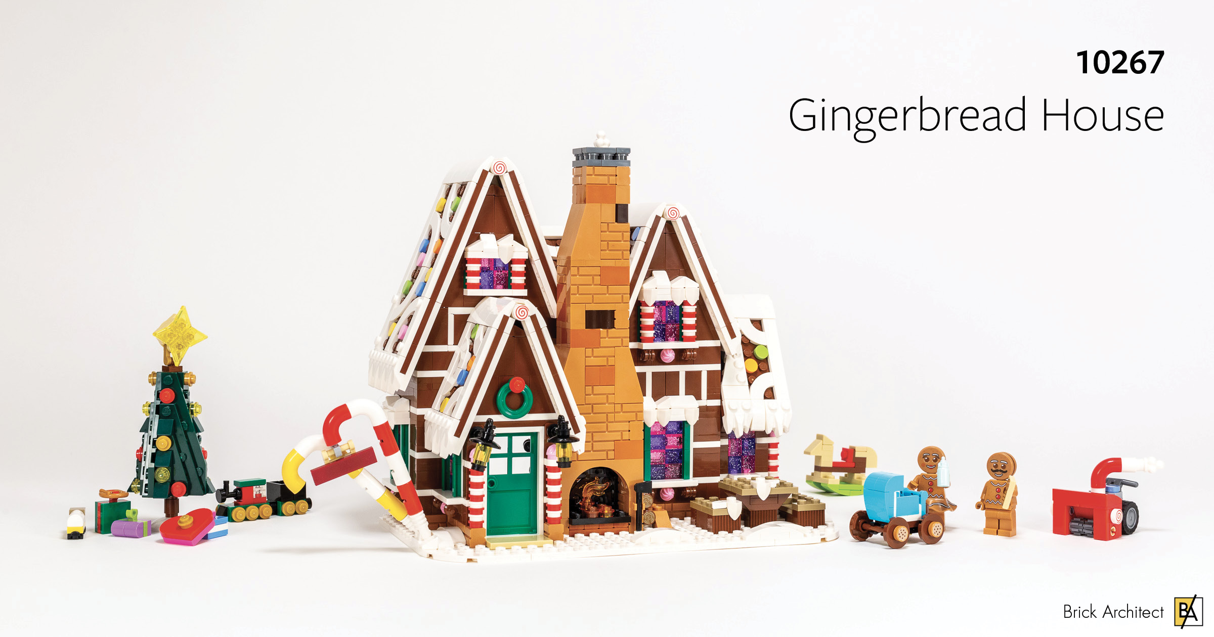 LEGO Winter Village Gingerbread House INSTRUCTIONS ONLY fr LEGO Bricks Christmas